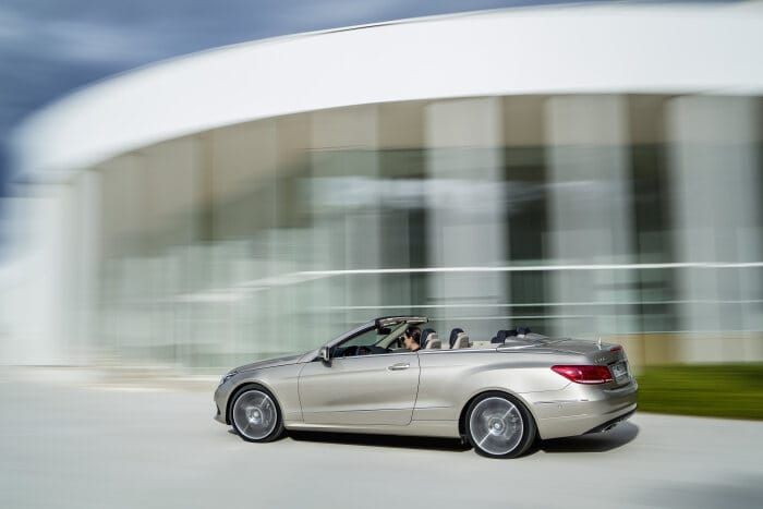 Mercedes-Benz E-Class Cabriolet, E 350 BlueTEC, model year 2013, exterior