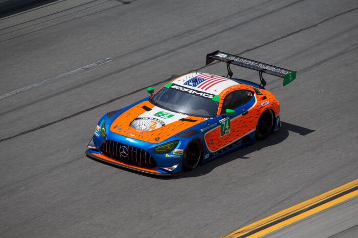 Mercedes-AMG GT3 #74, Riley Motorsports im IMSA Weathertech 240 At Daytona