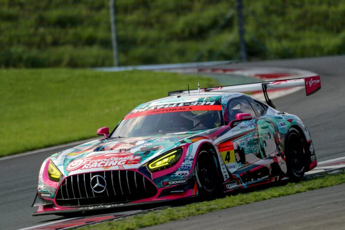 Mercedes-AMG GT3 #4, GOODSMILE RACING & TeamUKYO