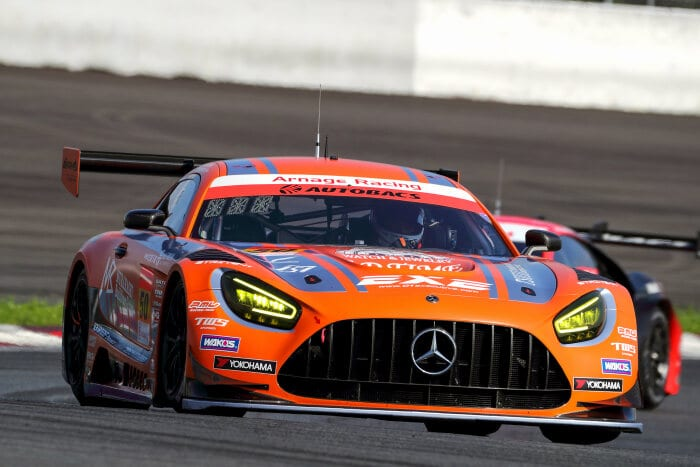 Mercedes-AMG GT3 #50, Arnage Racing