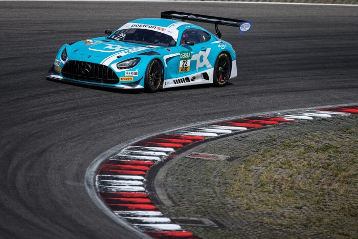 Mercedes-AMG GT3 #22, Toksport WRT