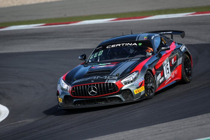 Mercedes-AMG GT4 #15, NM Racing Team