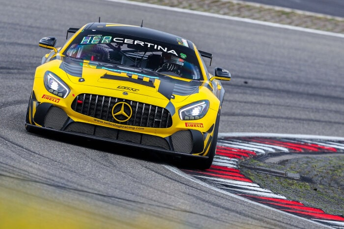 Mercedes-AMG GT4 #31, Selleslagh Racing Team
