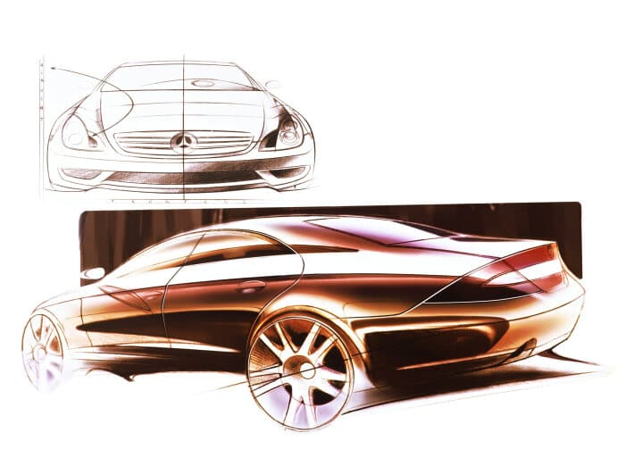 Mercedes-Benz Vision CLS - A coupé generation ahead of the rest