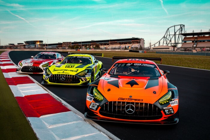 #8. #9, #10 Mercedes-AMG GT3 by GetSpeed Performance