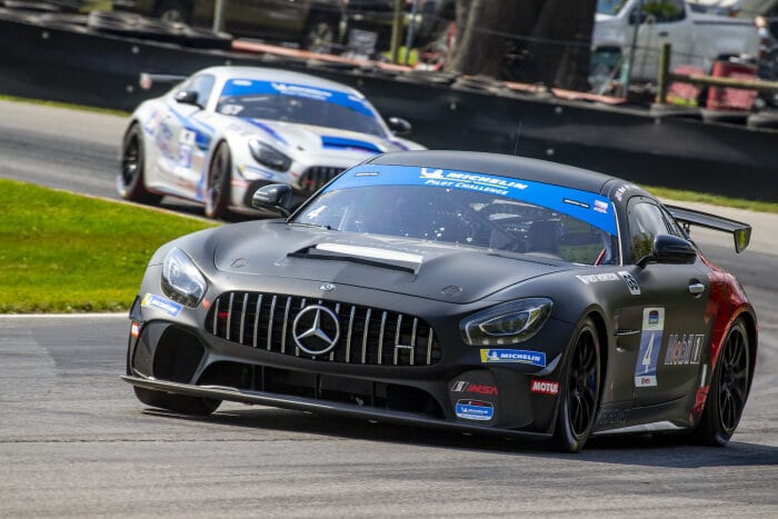 #4 Mercedes-AMG GT4, Winward Racing