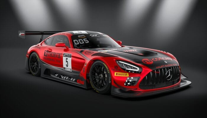 Mercedes-AMG GT3 #5 Haupt Racing Team