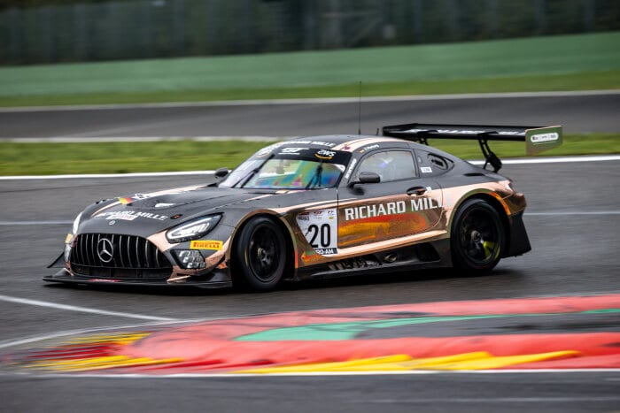 Mercedes-AMG GT3 #20, SPS automotive performance