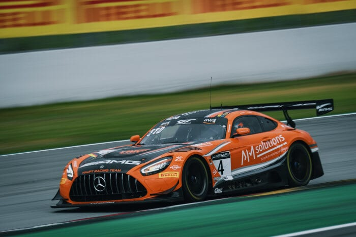 #4, Mercedes-AMG GT, Haupt Racing Team, GT World Challenge Europe Sprint Cup, Barcelona