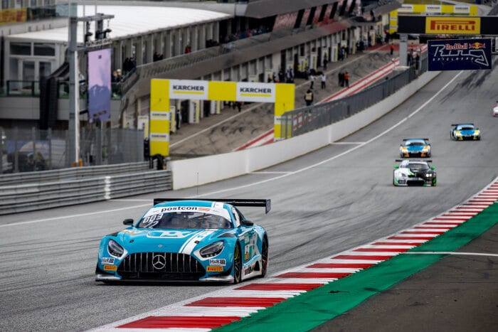 #22 Mercedes-AMG GT3, Toksport WRT