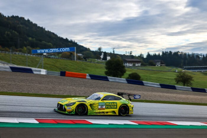 #47 Mercedes-AMG GT3, MANN-FILTER Team HTP-WINWARD