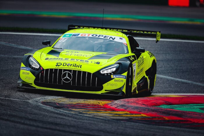 #44 Mercedes-AMG GT3, GetSpeed Performance