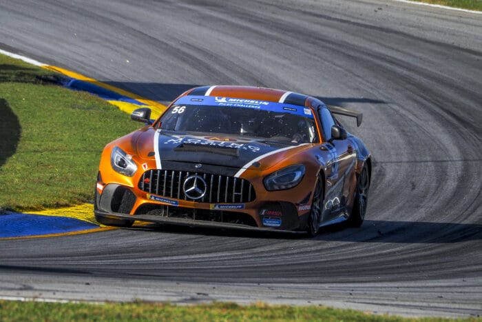 #56 Mercedes-AMG GT4, Murillo Racing