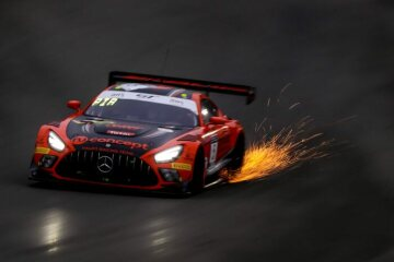 Mercedes-AMG GT3, #5, HAUPT RACING TEAM