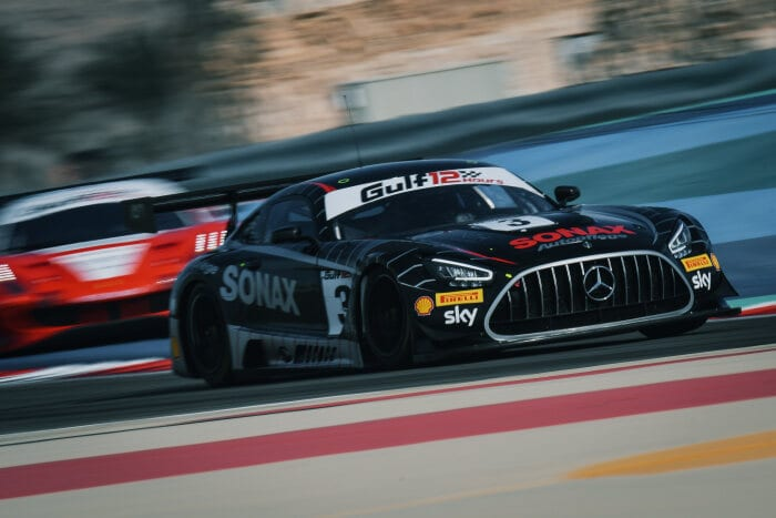 #3 Mercedes-AMG GT3, Ram Racing