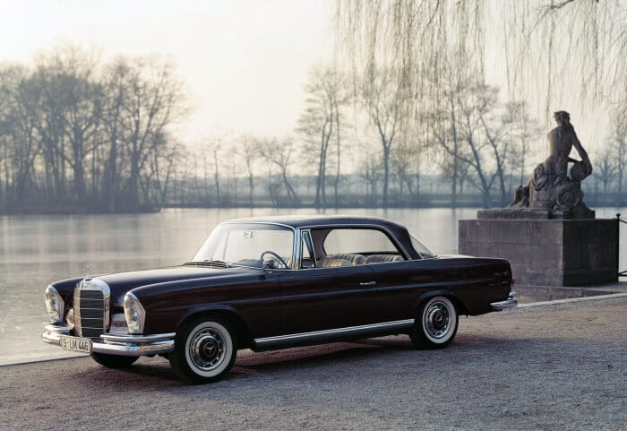 Mercedes-Benz 220 SE Coupé (W 111). This car was presented to the public at the Geneva Motor Show in 1961. (Photo signature in the Mercedes-Benz archive: U2220)
