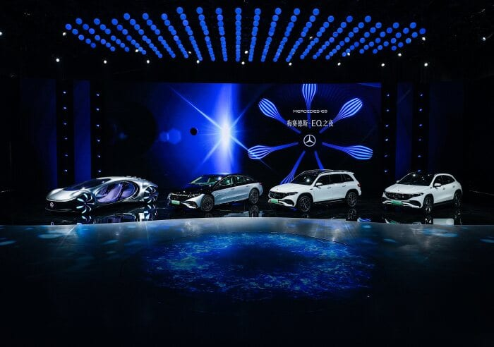 Two world and three market premieres: Mercedes-Benz at Auto Shanghai 2021