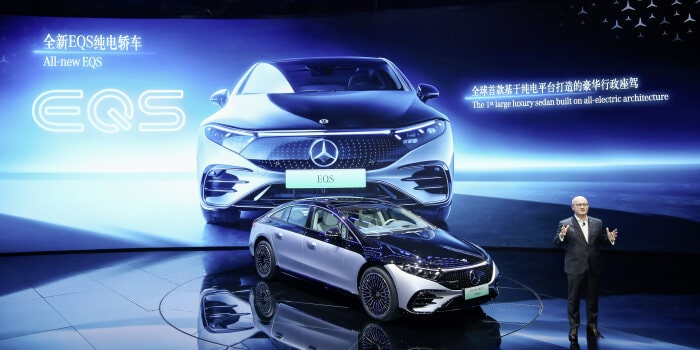 Mercedes-Benz at Auto Shanghai 2021 – Press Conference