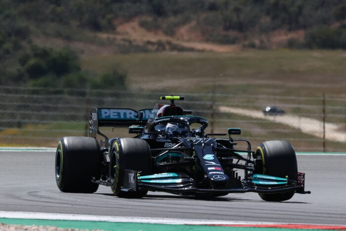 Formula One - Mercedes-AMG Petronas Motorsport, Portugal GP 2021. Valtteri Bottas